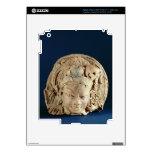 Head of Ardhanarisvara, Newal, Unnao (terracotta) iPad 3 Decals