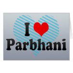 I Love Parbhani, India Card