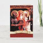 Feliz Navidad. Spanish Christmas Greeting Card