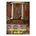 Iglesia (2006), Nuestra Virgen Morena Card