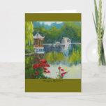 """""""Chongqing Reflections"""" Card"""