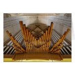 Ulm Munster organ card
