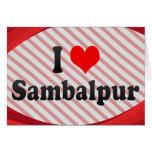 I Love Sambalpur, India Card