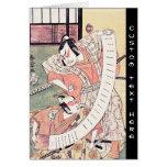 The Second Sakata Hangoro as a Daimyo Attired Card