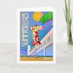 Summer Milano greeting card