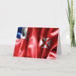 Wallis and Futuna Flag Greeting Card