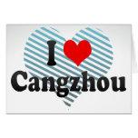 I Love Cangzhou, China Card