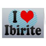 I Love Ibirite, Brazil. Eu Amo O Ibirite, Brazil Card