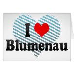 I Love Blumenau, Brazil Card