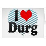 I Love Durg, India Card