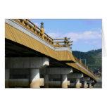 Bridge over Uji River Card