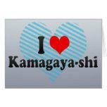 I Love Kamagaya-shi, Japan Card