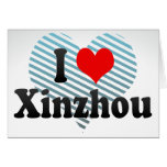 I Love Xinzhou, China Card