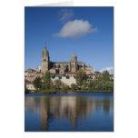 Salamanca Cathedrals and town 2 Card