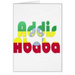 Addis Ababa, Ethiopia Card