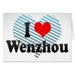 I Love Wenzhou, China Card