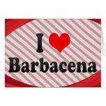 I Love Barbacena, Brazil Card