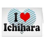 I Love Ichihara, Japan Card