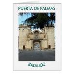 CARD GIFT DOOR DE PALMAS BADAJOZ
