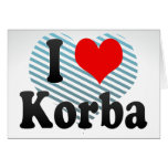 I Love Korba, India. Mera Pyar Korba, India Card