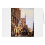 Cityhall in Lbeck by Cornelis Springer Card