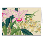 Asian Orchid Card