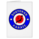 Shotokan Karate Card