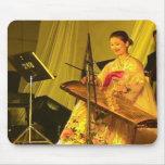 Chinese zither player, YUST, Yanji, Jilin Mouse Pad