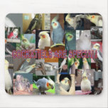 Cockatiels are special mouse pad