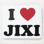 I Heart Jixi China Mouse Pad