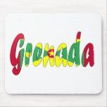 Grenada Flag Mouse Pad