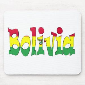 Bolivia Flag Mouse Pad