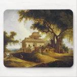 Ruins of the Naurattan, Sasaram, Bihar, 1811 (oil Mouse Pad