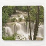 Thailand, Huai Mae Khamin Waterfall Mouse Pad