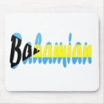 Bahamian Flag Mouse Pad