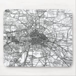 Berlin and Surrounding Areas Map(1911) Mouse Pad