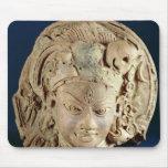 Head of Ardhanarisvara, Newal, Unnao (terracotta) Mouse Pad