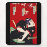 Ichikawa 團 ten 郎, help six of flower river door mouse pad