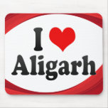 I Love Aligarh, India Mouse Pad
