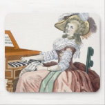 The Virtuosa in a Dress 'a l'Anglaise' with a Marl Mouse Pad