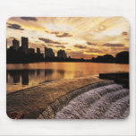 Sunset In City Londrina Mouse Pad