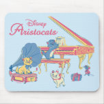 Aristocats at the Piano Mouse Pad