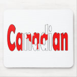 Canadian Flag Mouse Pad