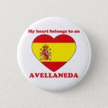 Avellaneda Pinback Button