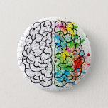 brain series pinback button