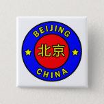 Beijing China Button