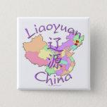 Liaoyuan China Pinback Button