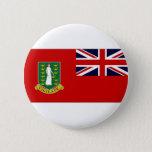 British Virgin Islands Flag Pinback Button