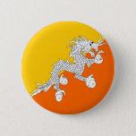 Bhutan High quality Flag Button