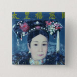 Portrait of the Empress Dowager Cixi Button
